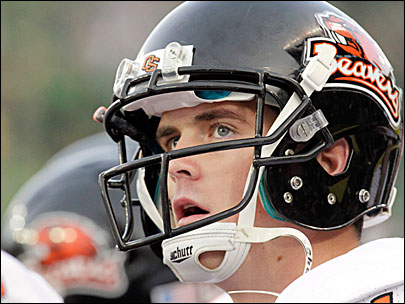 Beavers QB ready to lead team out of doldrums