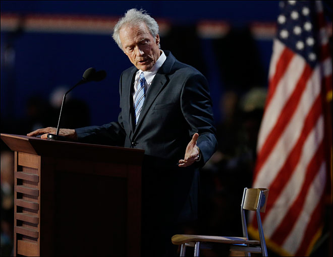 Obama says he's a 'huge Clint Eastwood fan'