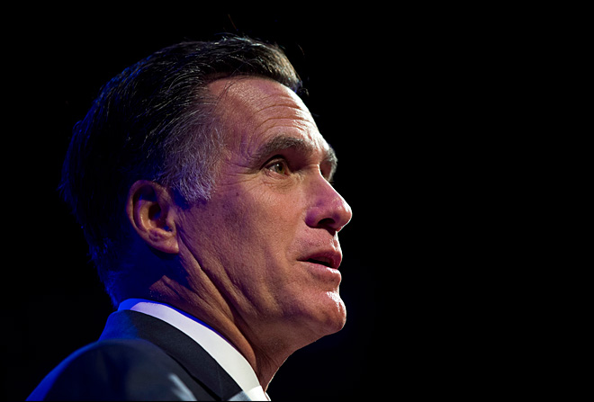 Romney makes Mormonism part of his big night
