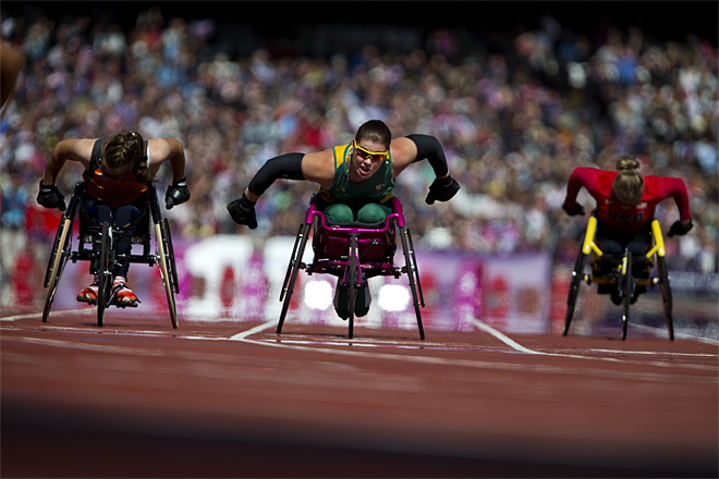 APTOPIX London Paralympics Athletics