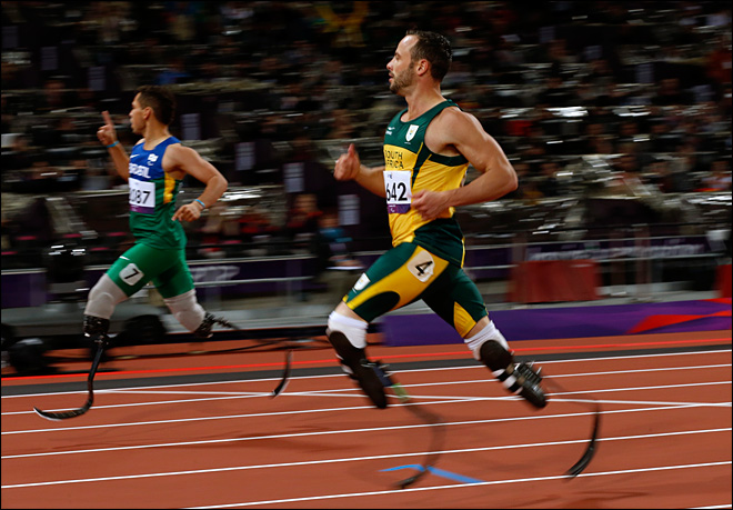Pistorius apologizes for timing of complaints after Paralympic defeat