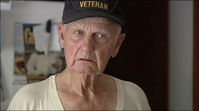 WWII vet kills would-be burglar with single shot