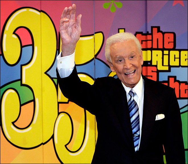 Barker 'fine' with exclusion from 'Price Is Right' special