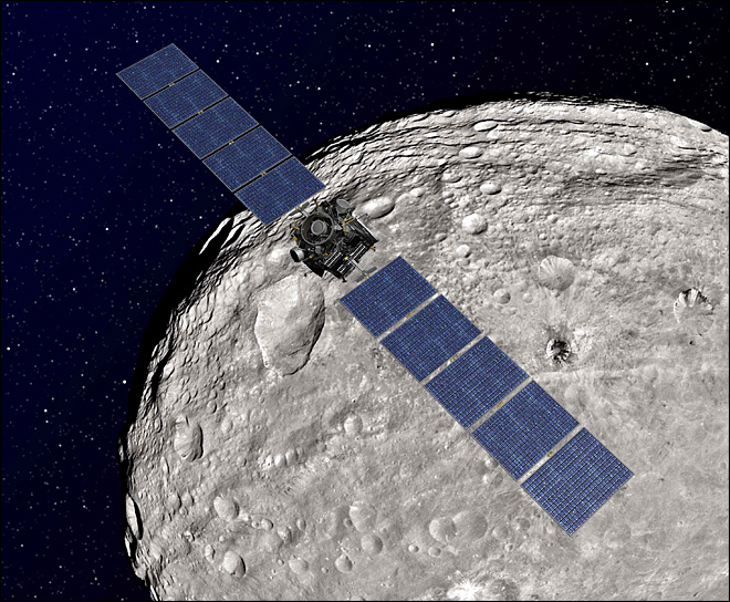 Dawn spacecraft to depart asteroid for dwarf planet
