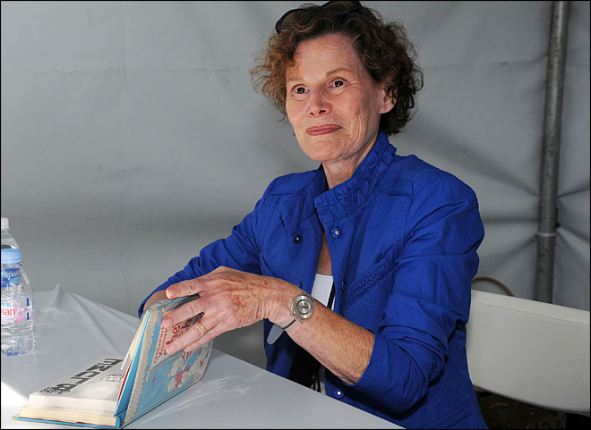 Author Judy Blume diagnosed with breast cancer