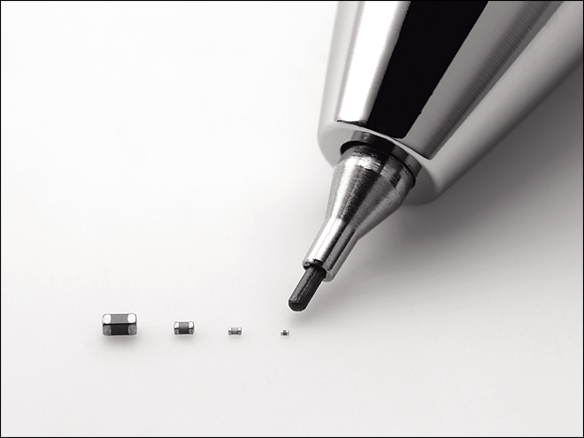 Electronics maker turns to tiniest device for big business