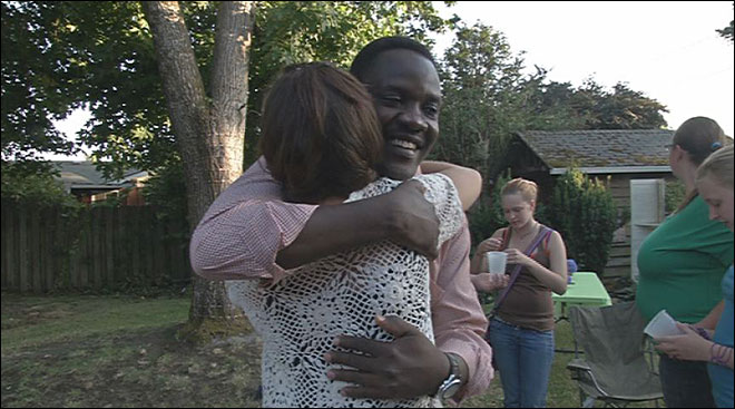 Man home after a month in Sudan captivity
