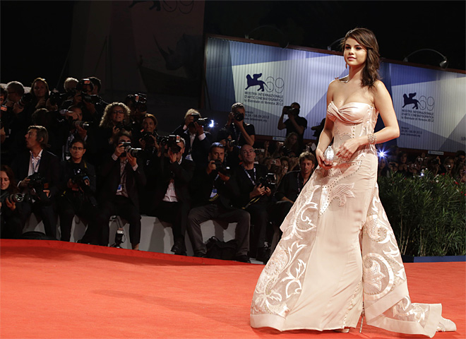 Italy Venice Film Festival Spring Breakers Red Carpet