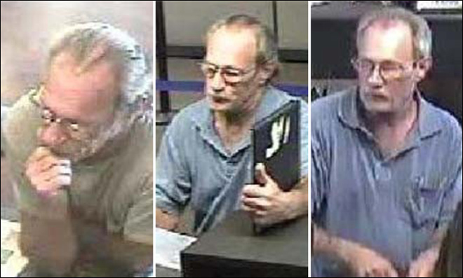 FBI seeks bank robber dubbed 'Bucket List Bandit'