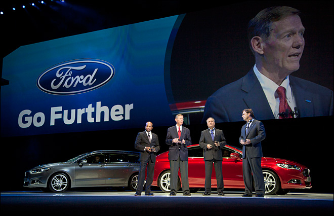 Ford unveils 15 fresh models for European market