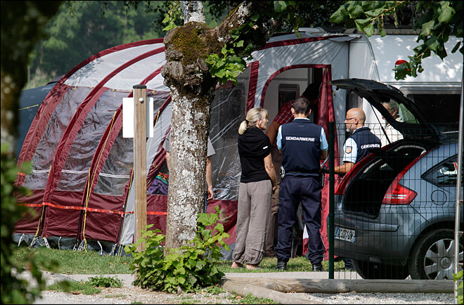 Family feud eyed in grisly killings in French Alps