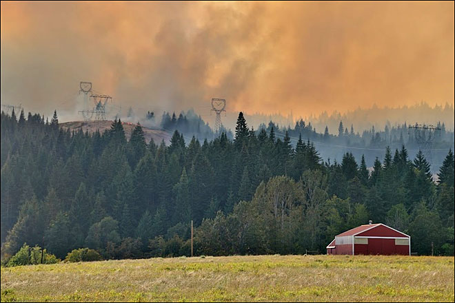 White Salmon Fire