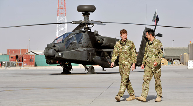 Afghanistan Prince Harry