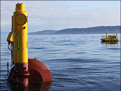 Buoy off Oregon Coast puts wave power to the test