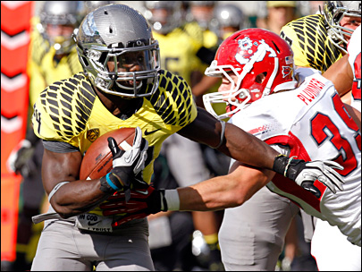Oregon on Fresno State: 'We got too comfortable with the lead'