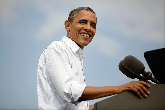 Obama out to renew magic; Romney hits defense cuts