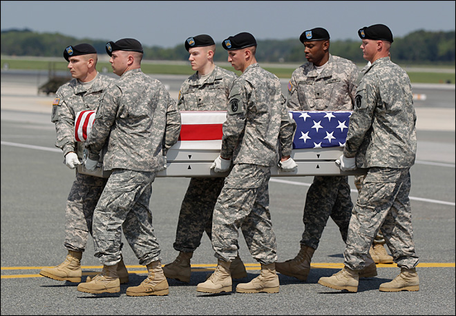 War-weary U.S. is numbed to drumbeat of troop deaths