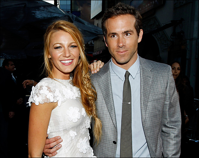 Ryan Reynolds and Blake Lively tie the knot in S.C.