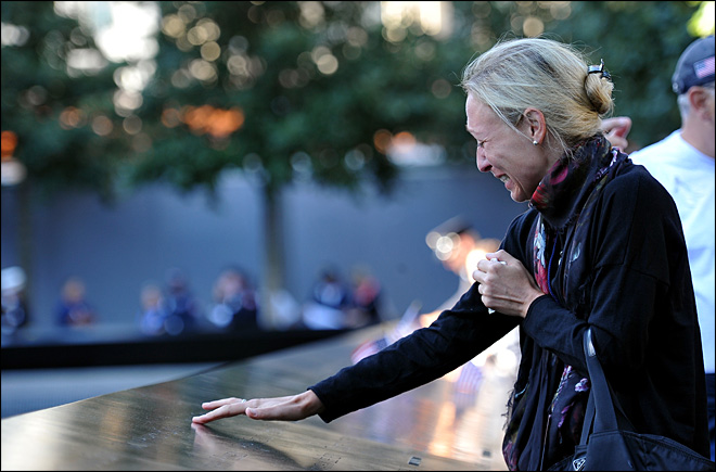Fewer 9/11 families on hand for 11th anniversary