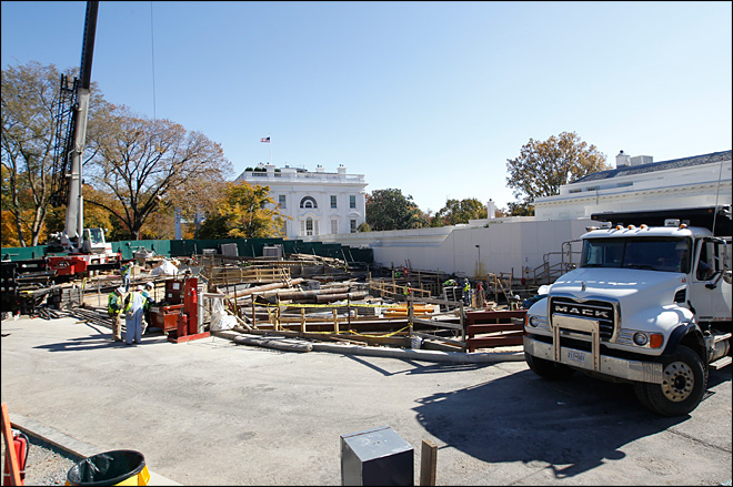 White House Big Dig ending, but mystery remains
