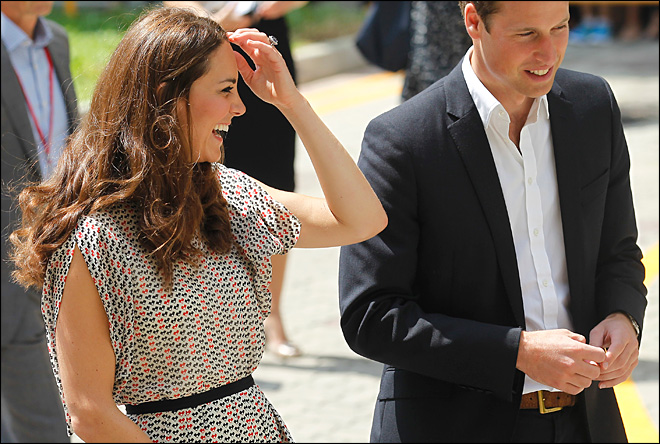 Prince William says he wants 2 children with Kate