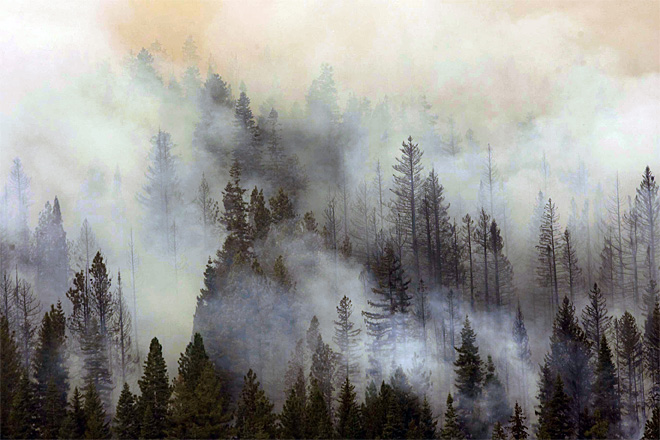Western Wildfires Oregon
