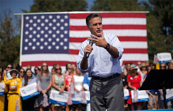 Romney tones down criticism over diplomatic crisis