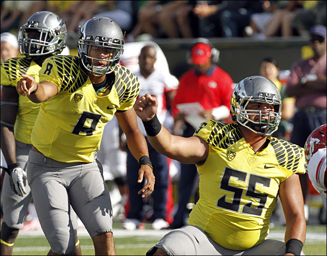 Oregon's young offense feels ready for Pac-12 play