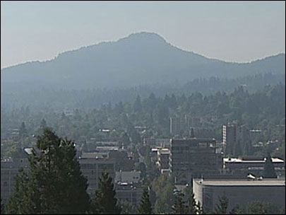 'We could smell it': Forest fire smoke floods Willamette Valley