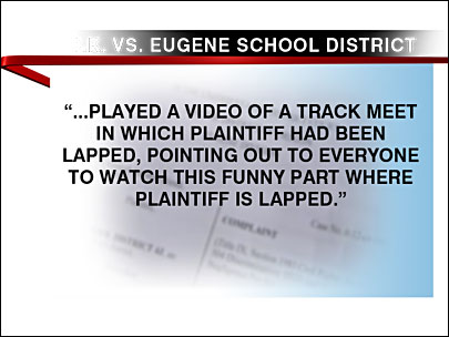 Former student sues Eugene schools over bullying