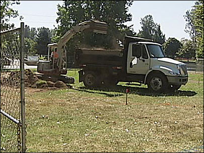 Work begins on Nobel Peace Park in Eugene