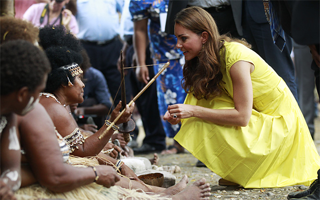 Solomon Islands Britain Asia Royals