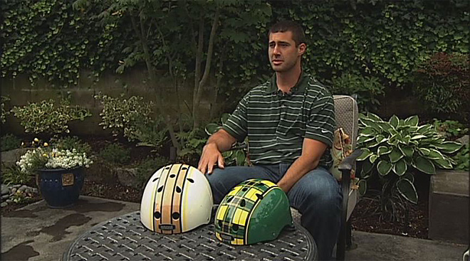 Former Ducks: Harrington raising money for bike helmets