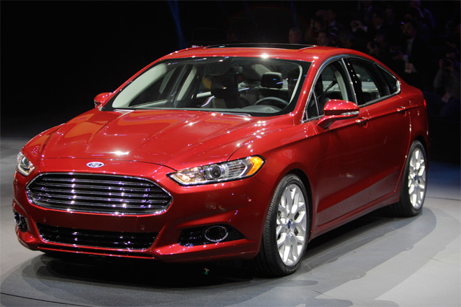 Ford to make Fusion in U.S. for first time