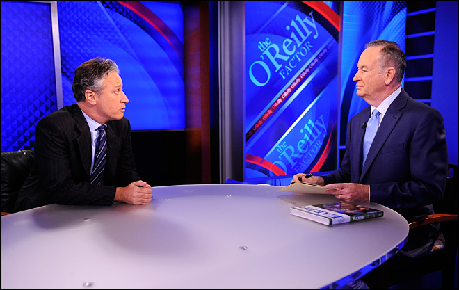 O'Reilly, Stewart to debate on presidential race