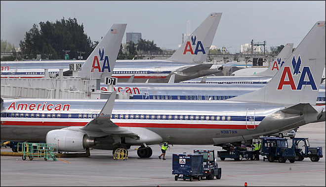 American Airlines inspecting jets for loose seats