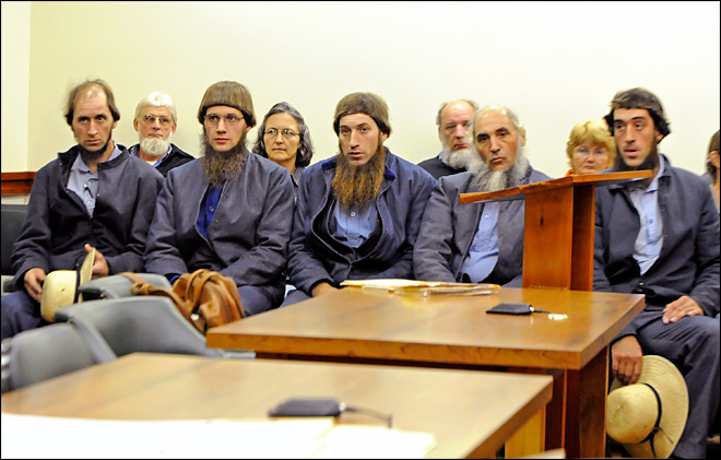 Amish guilty of hate crimes in Ohio hair attacks