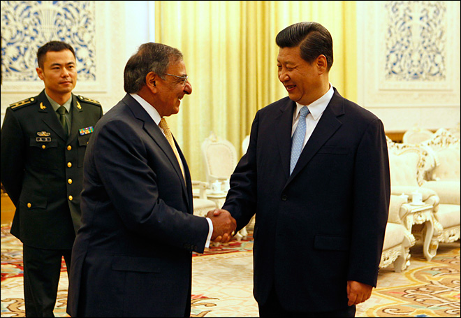 Panetta talks computer hacking issues with Chinese