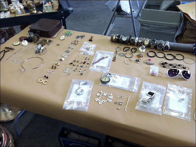 Recovered Stolen Items