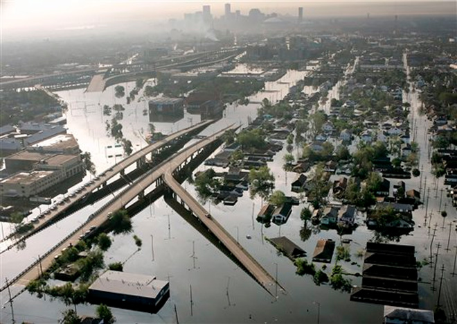 Corps let off the hook for Katrina flooding