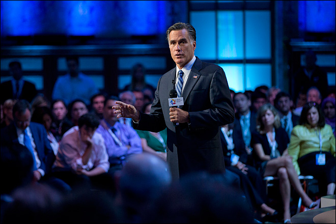 Romney, Obama make subtle jabs on foreign policy