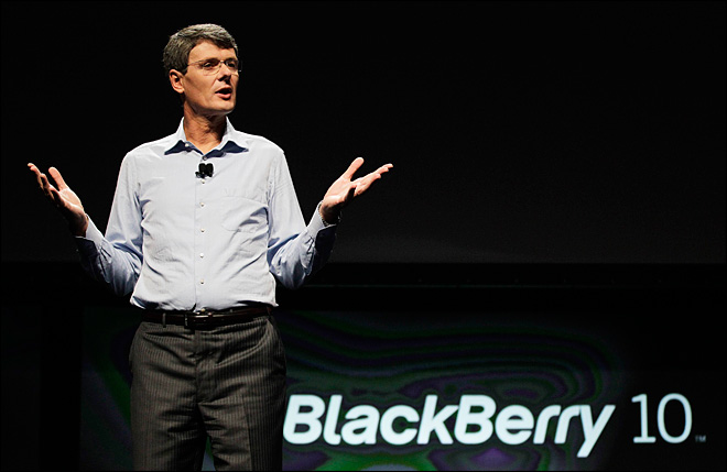 BlackBerry maker plants seeds for comeback attempt