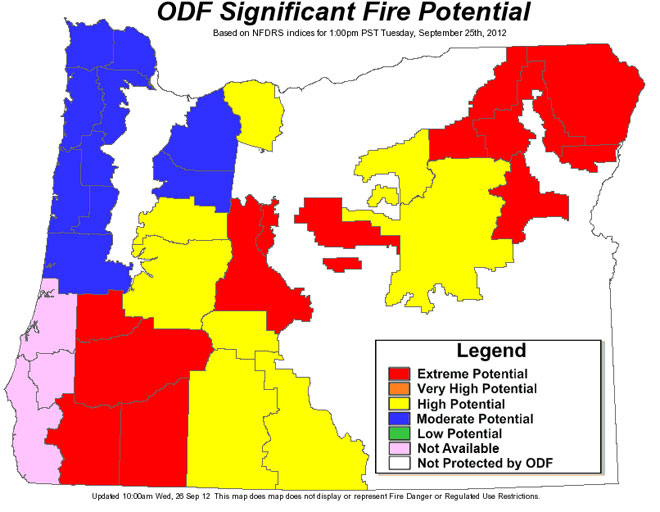 Private forests closed to hunters due to fire danger