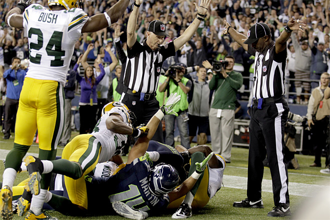 Replacement referee claims they saved the whole NFL season