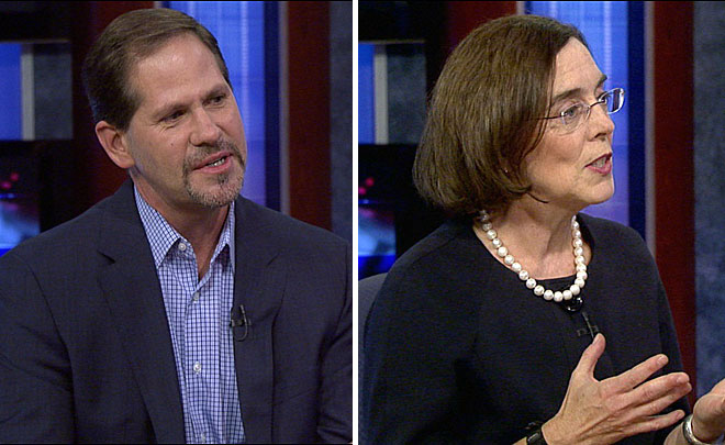 Buehler, Brown say they're concerned about big money in politics
