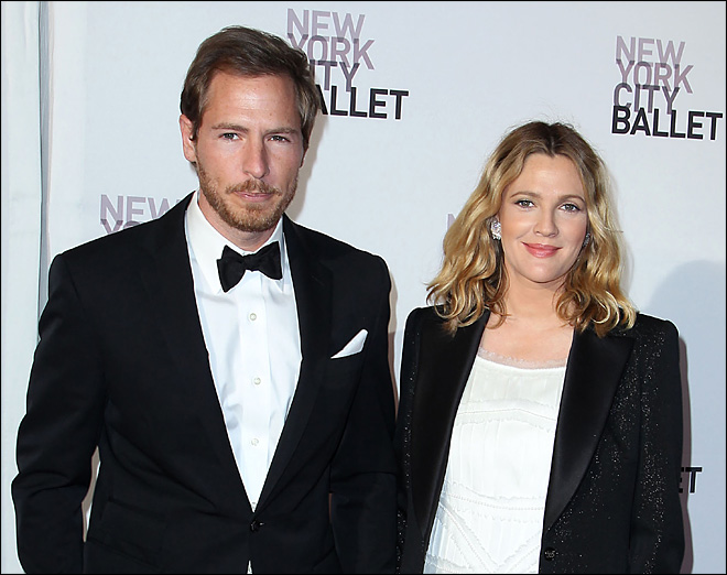 Drew Barrymore gives birth to her first child