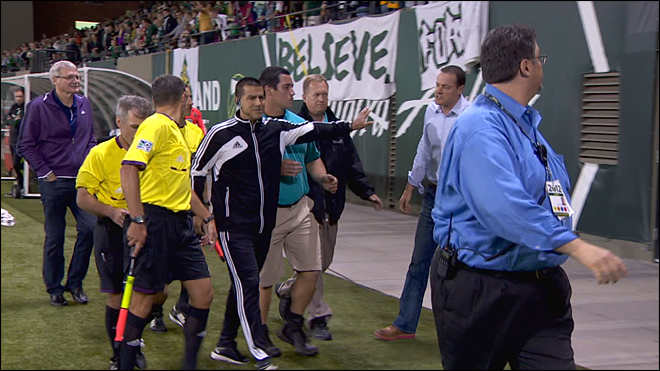 Timbers owner fined $25k for confrontation with ref