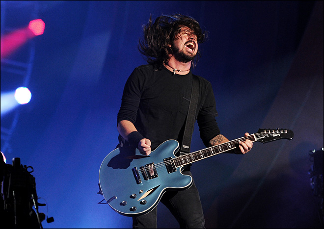 Dave Grohl says Foo Fighters are taking a break