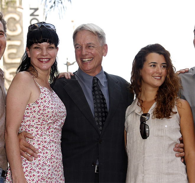 Mark Harmon Star Ceremony