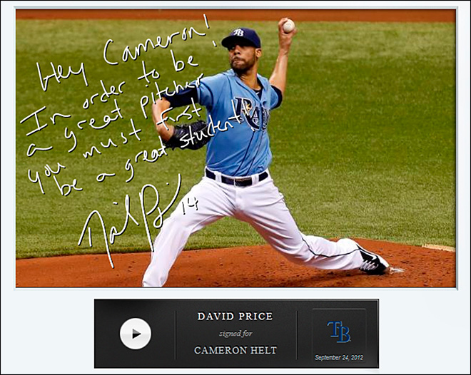 Baseball autographs go hi tech with Seattle company